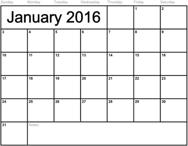Calendar Dangle