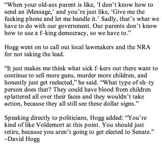 David Hogg quote
