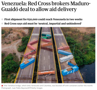Guardian Headline